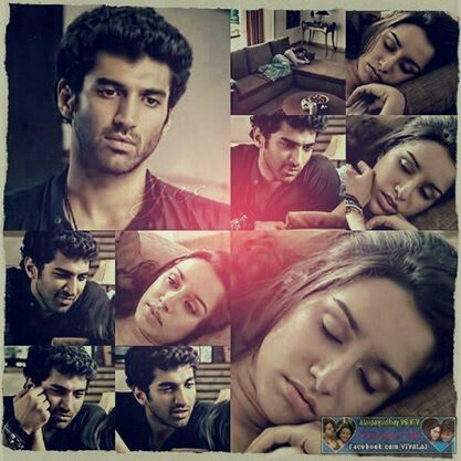 Aditya Roy Kapur And Shraddha Kapoor Aashiqui 2 Romantic Movies Bollywood Couples Ok Jaanu Movie