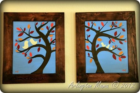 17 best images about favorite frames on pinterest homemade frames canvas prints and plastic canvas - Wood Frames For Canvas Paintings