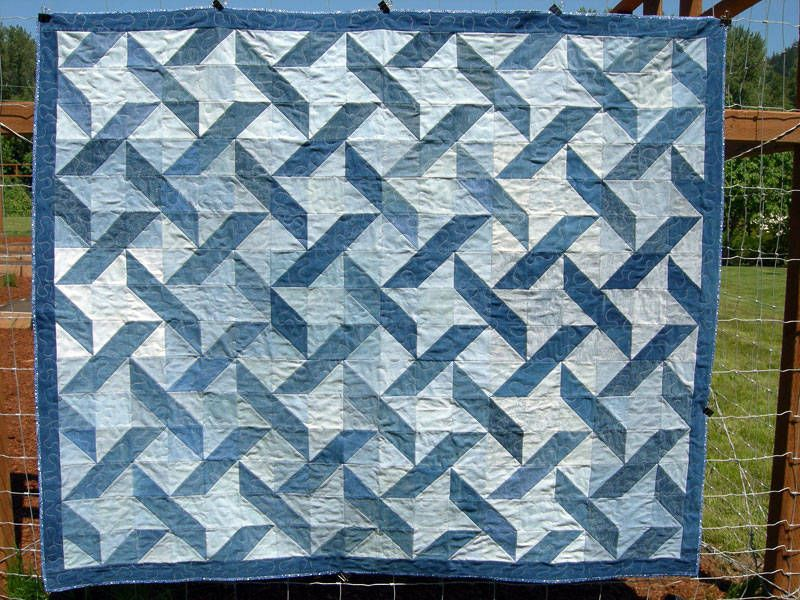 Pictures of Star Quilts to Inspire Your Next Project | Half square ... : denim quilts pinterest - Adamdwight.com