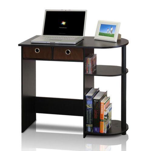 Teens Computer Desk Kids Small Dorm Room Furniture Printer Table Apartment  Den | EBay