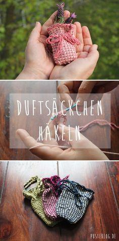 Tutorial Kleines Duftsäckchen Häkeln Pinterest Duftsäckchen