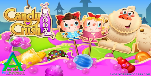 Candy Crush Soda Saga 1.71.3 Cracked Mod APK Download