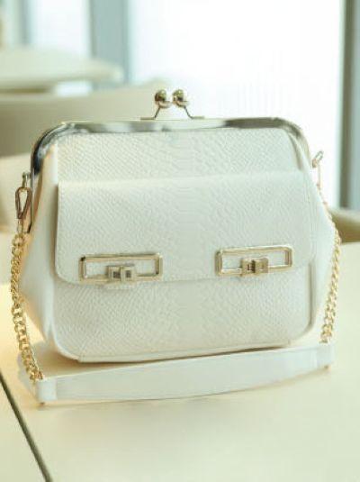 OL design vintage style bag