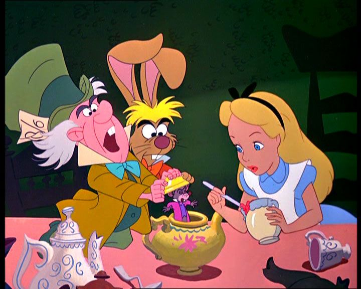 Interpretation Miscommunication Alice In Wonderland Cartoon