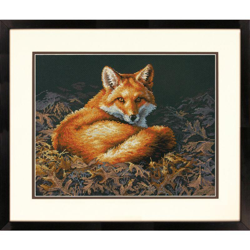 Dimensions Cross Stitch Kit Sunlit Fox