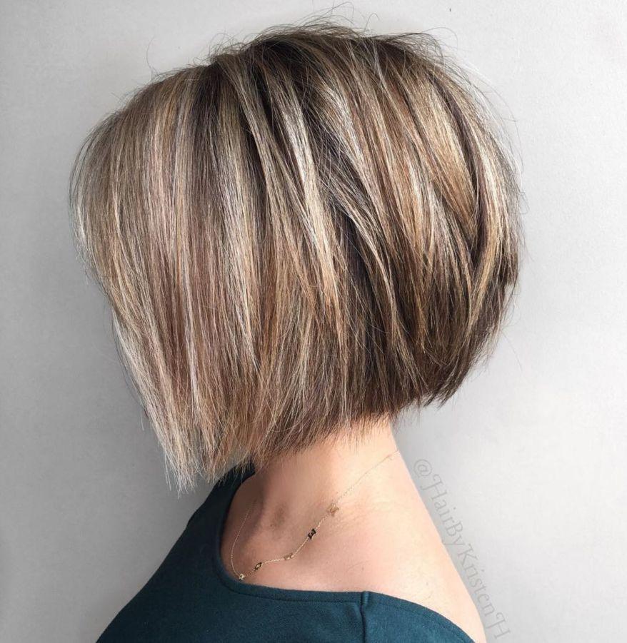 Angled Choppy Bob For Straight Thick Hair Short Hairstyles For Thick Hair Thick Hair Styles Straight Thick Hair