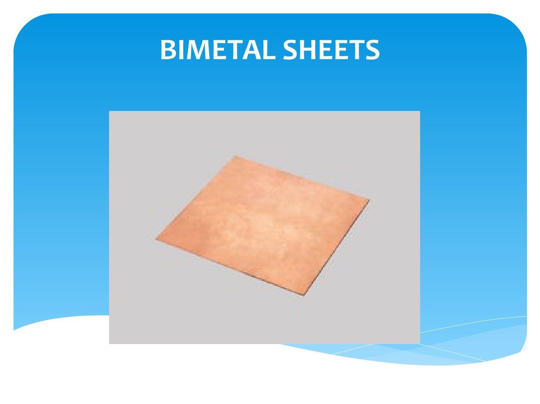 Bimetal sheet strip
