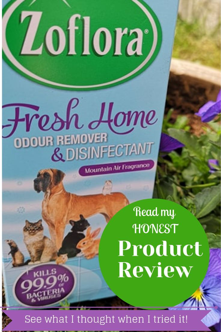 Zoflora Fresh Home Pet Disinfectant Product Review Pets Dog Urine Odor Remover