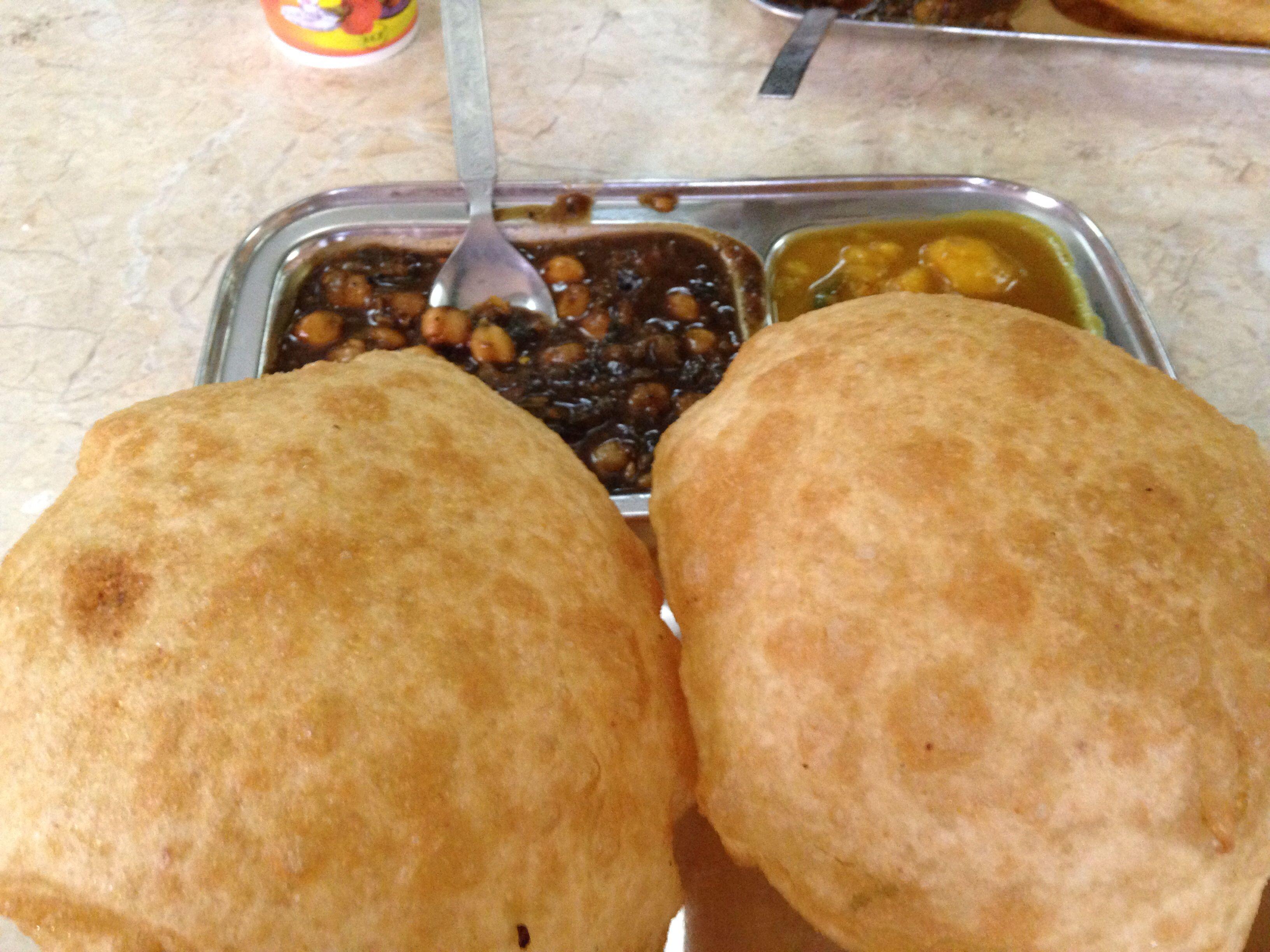 Punjabi Puri chole   Food and Drinks   Pinterest