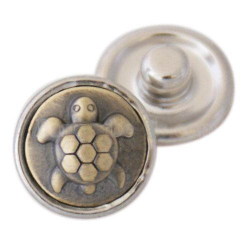 Metal Turtle Mini Popper