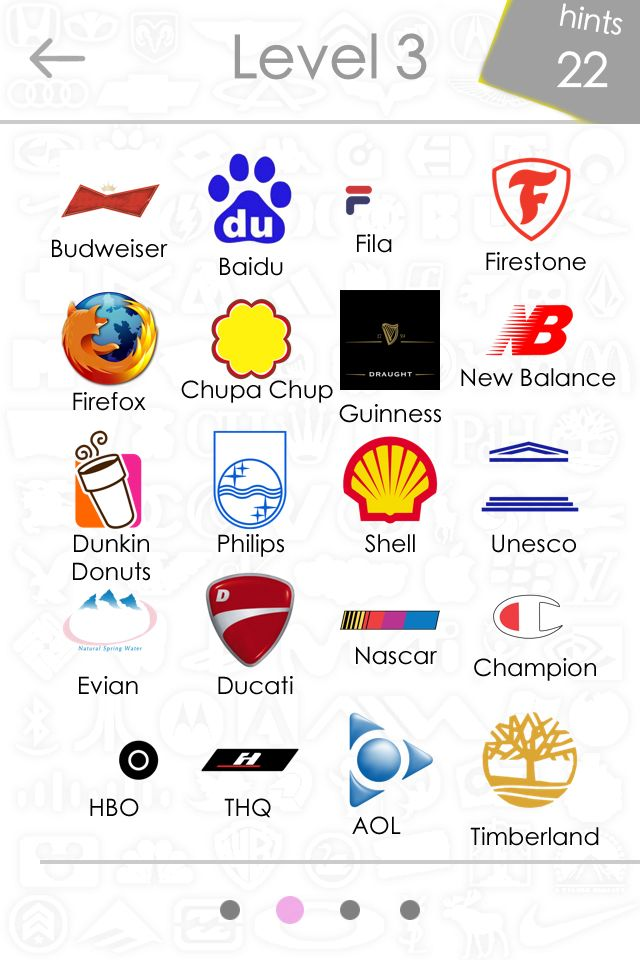 Logos Quiz Level 3 Answers - App Game Answers