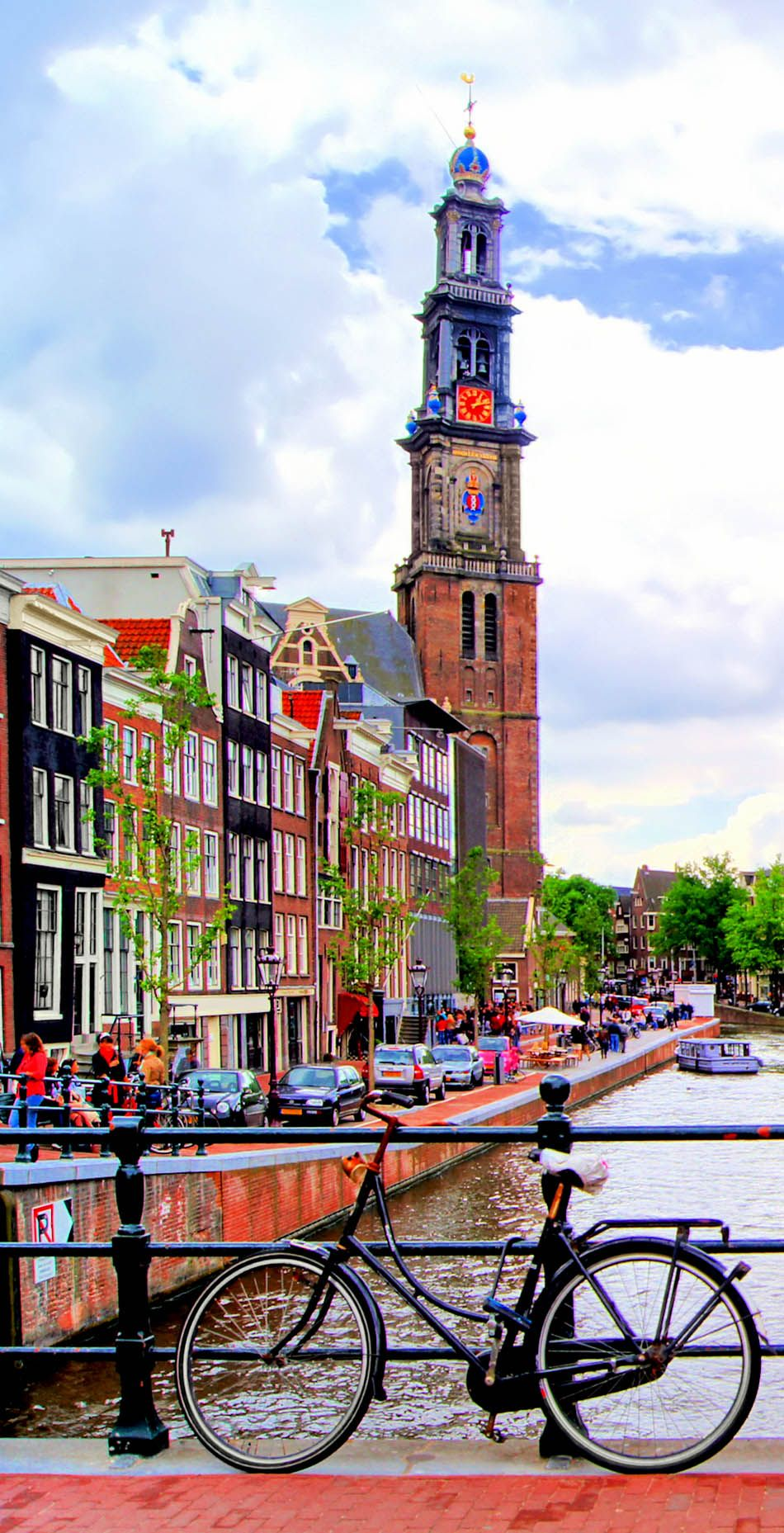 Amsterdam the city of canals Netherlands
