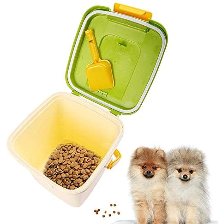 Fidgetgear Pets Food Container Portable Dog Snacks Storage Box