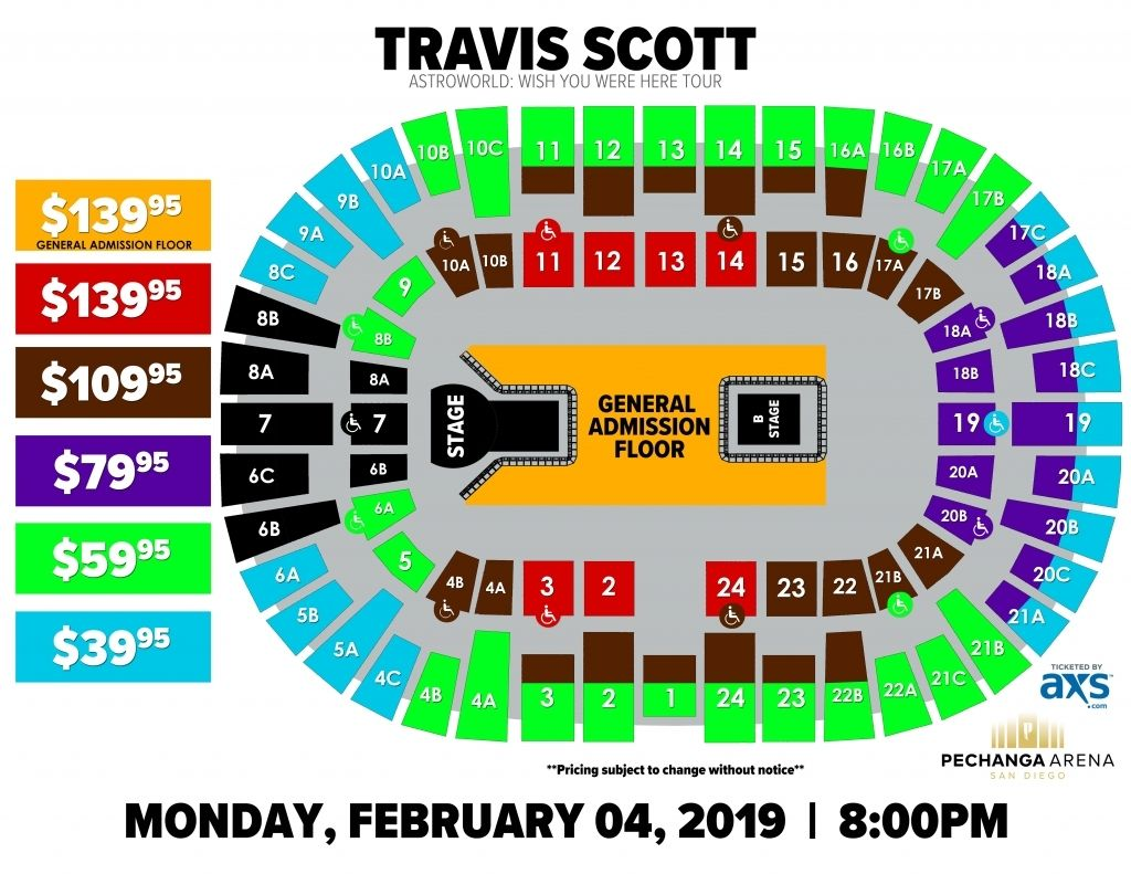 The Incredible As Well As Beautiful Pechanga Seating Chart Di 2020 Konser San Diego Beautiful