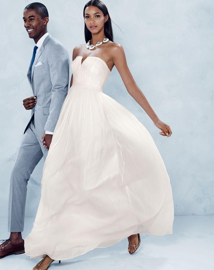 Simple, pretty wedding dress from J.Crew. | Weddings | Pinterest ...