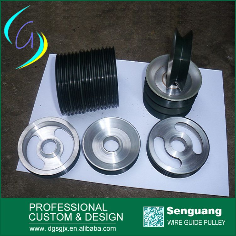 combined wire guide pulley