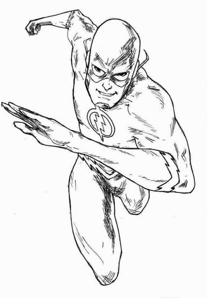 Malvorlagen Superhelden