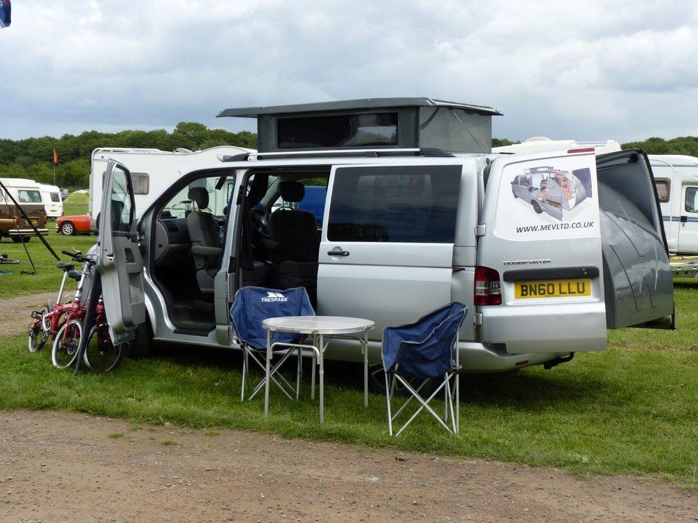 T5 Vw Transporter Camper Van Unique Roof Rear Bed Extension Part Exchange Ok Vw Transporter Campervan Vw Camper Vw Campervan