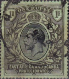 British East Africa and Uganda 1912 King George V SG 53a Fine Used Scott 49a Other KUT Stamps HERE