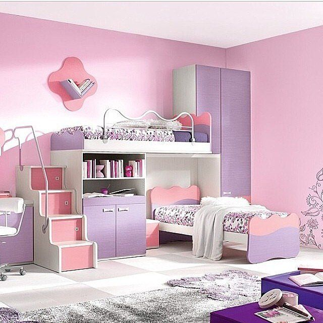 These 27 Crazy Kids Rooms Will Make You Want To Redecorate Immediately Girls Bedroom Makeover Girl Bedroom Decor Teenage Girl Bedroom Decor Little girls room ideas furniture