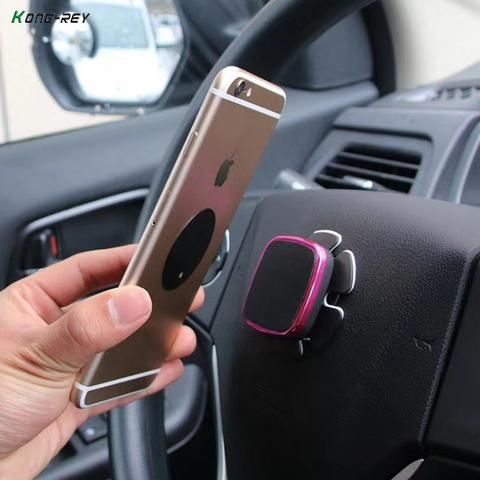 Magnetic Car Phone Holder In Car Air Vent Desk Wall Mount Universal Magnet Sticker Stand Magnet Support Cell Holder For Iphone Mobile Phone Accessories Mobile Phone Holders & Stands