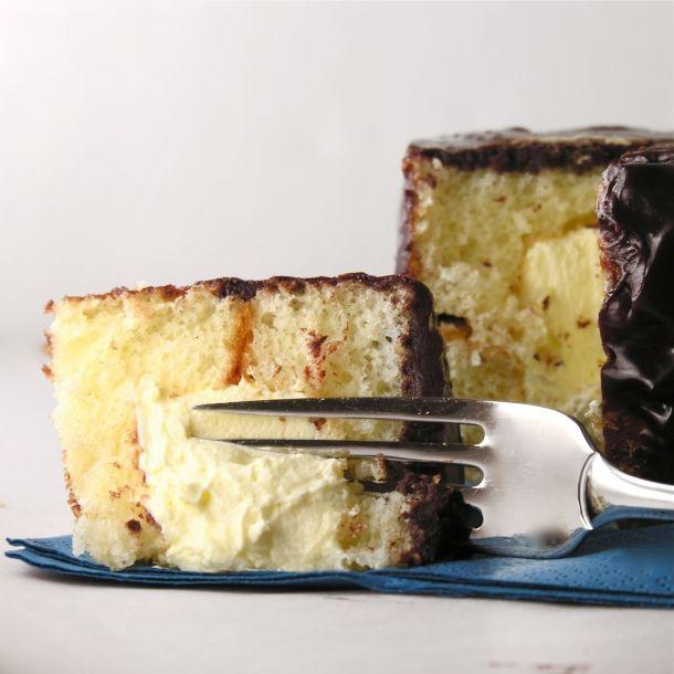 Mini Boston Cream Pies Like Hostess Cakes Cookies Pies Cakes