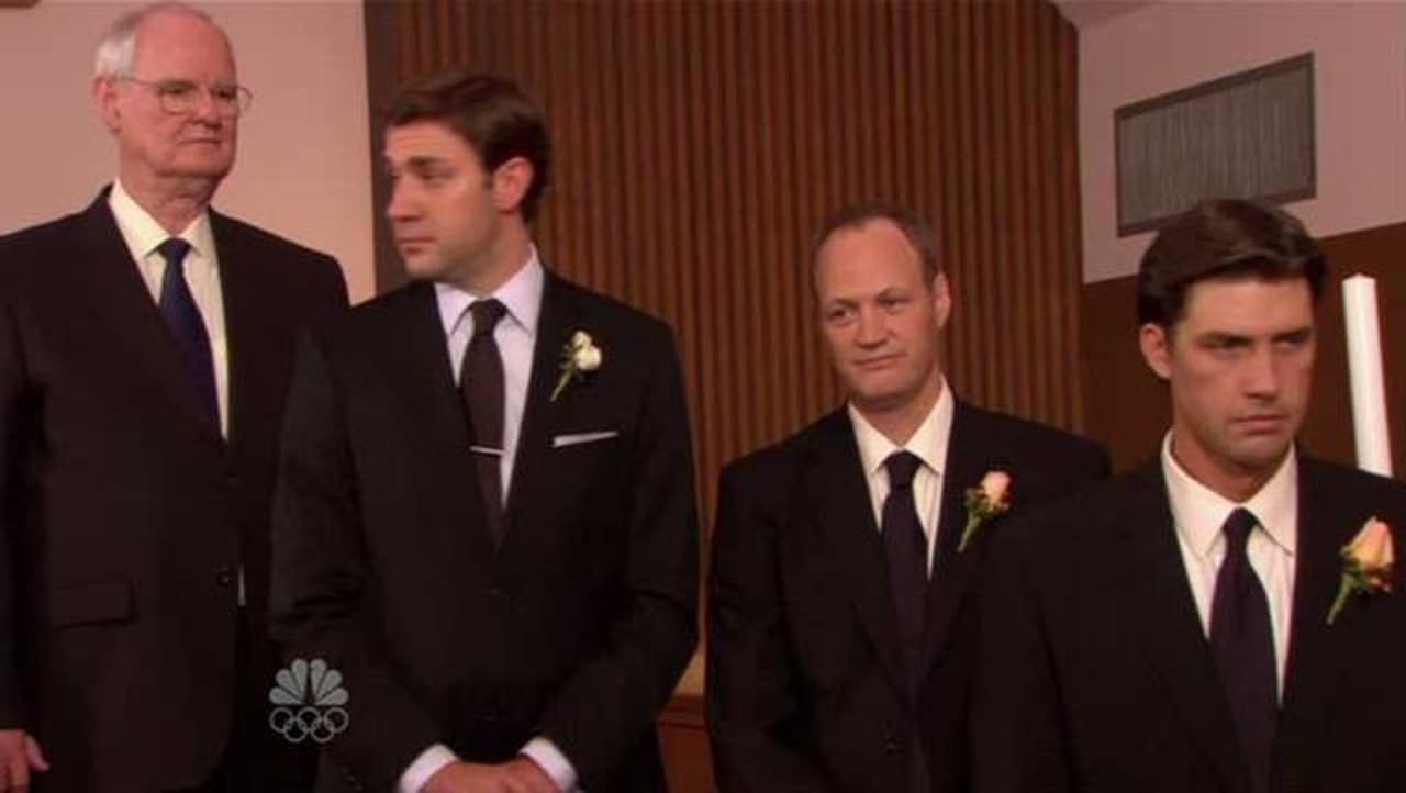 The Office Jim And Pam Getting Married Dance Jk Wedding Entrance Dance Style The Office Jim Jim And Pam Wedding Wedding Entrance