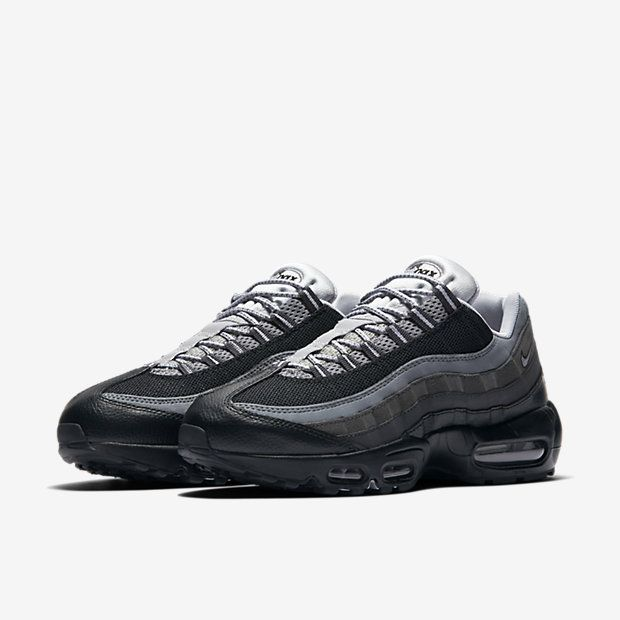 the latest a8d30 97d6a Cheap Nike Air Max 95 Essential Black Anthracite Cool Grey Wolf Grey Sale
