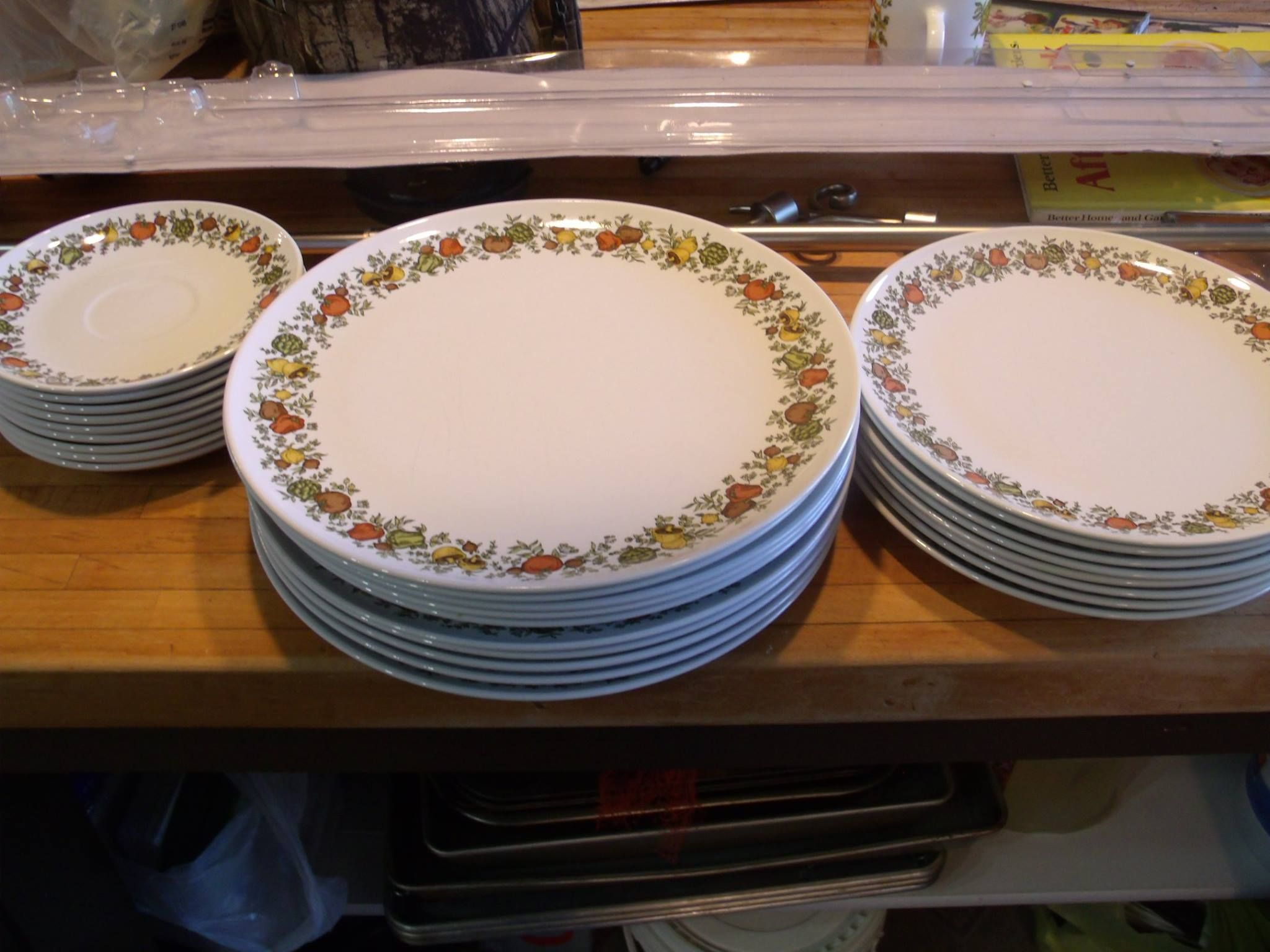 Found Another Set Of Centura By Corning Dishes At A Yard Sale For