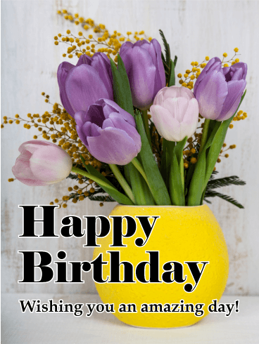 Birthday Cards For Her Birthday Greeting Cards By Davia Free Ecards Birthday Wishes Flowers Happy Birthday Wishes Cards Birthday Greeting Cards