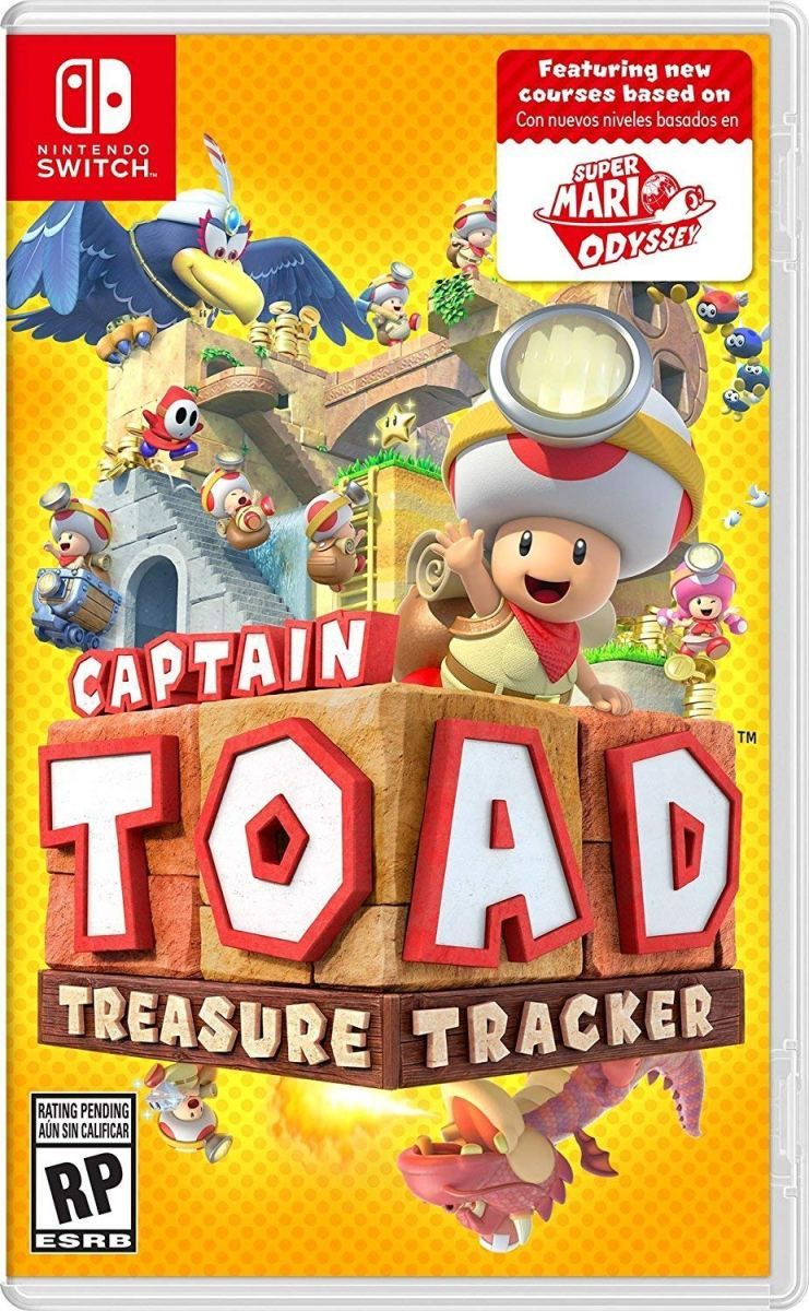 Captain Toad Treasure Tracker Nintendo Switch Game Nintendo
