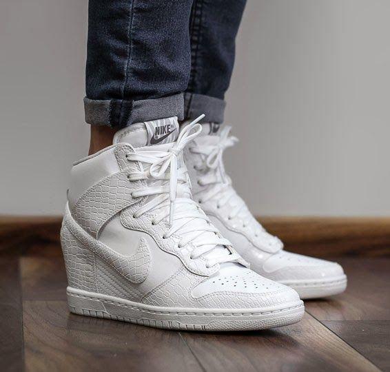 SOLEKITCHEN: Nike wmns wmns Nike Dunk Sky Hi Blanc/croco Sneak Freak 578695