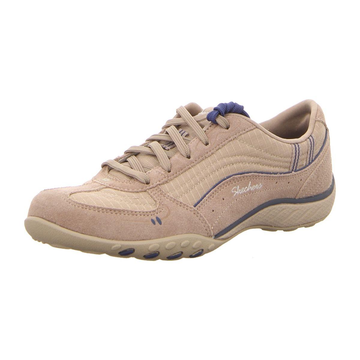 Skechers Sneaker  Zapatos  Sneaker Skechers Breathe-Easy-Just Relax 22459 STNV stone/navy (beige) 836a2e