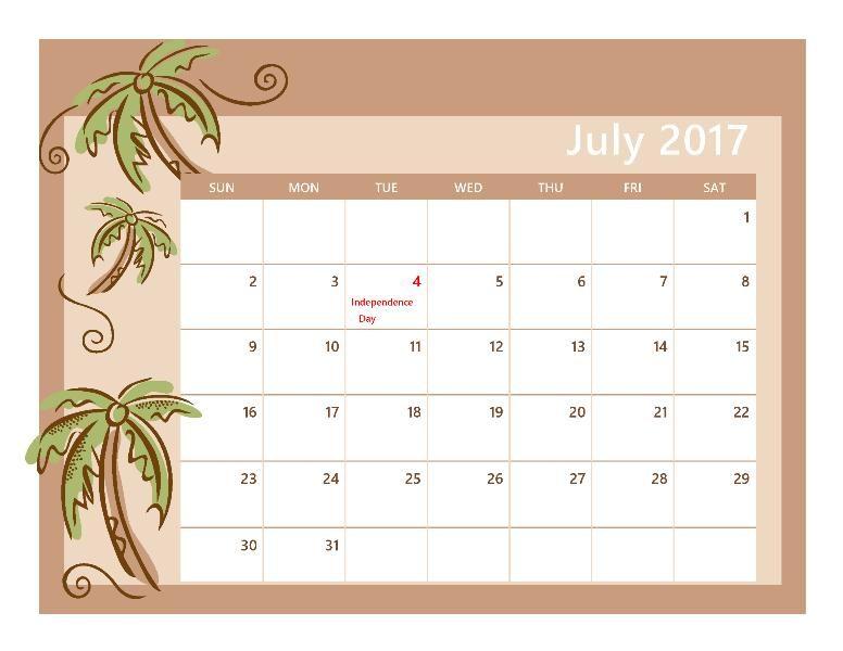 July  Calendar Free HttpHightidefestivalOrgJulyCalendar