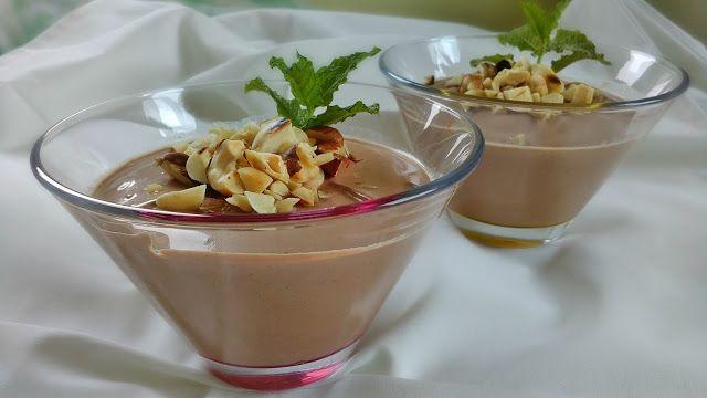 Da Panela para o Coração : Mousse de chocolate (com iogurte grego)