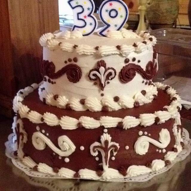 Mom Dads 39th Wedding Anniversary Cake Triple Chocolate Cake