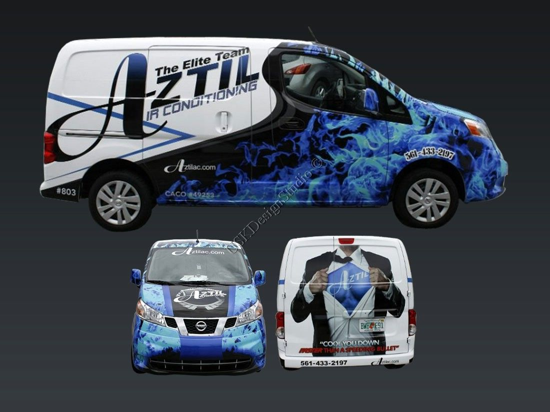 If you need a wrap design for your Cars, Vans, RVs, Buses, Truck, Trailers or Boats, Please visit our Profile Page.