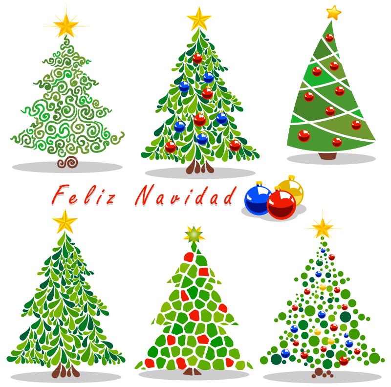 Arbolitos de navidad tipo cartoon navidad y christmas - Arbolito de navidad ...