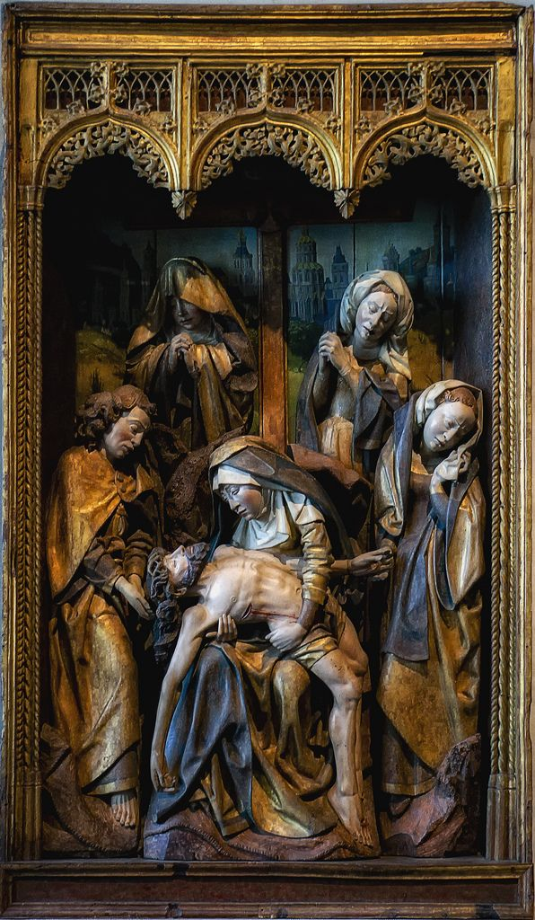 The Lamentation From The Cloisters In New York City