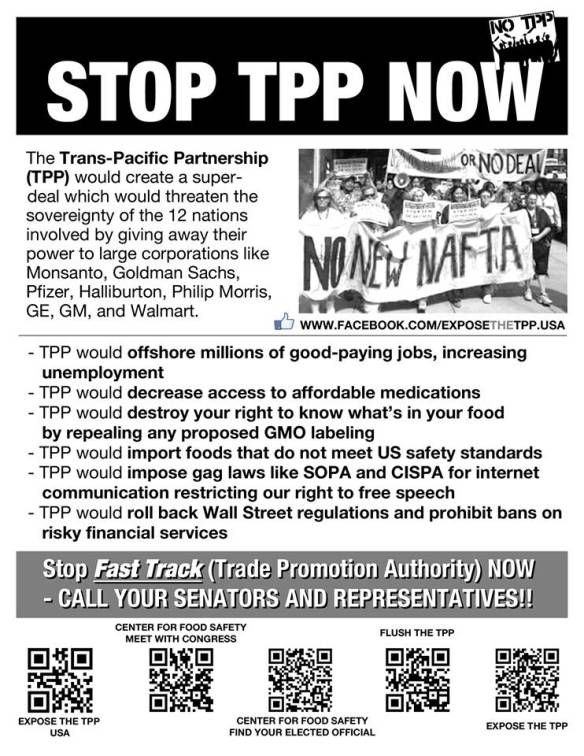 TPP - Expose the TPP Flyer Full Page INFOWARSCOM BECAUSE THERE\u0027S A