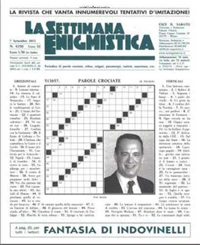 La Settimana Enigmistica N. 4250 - 07 Settembre 2013