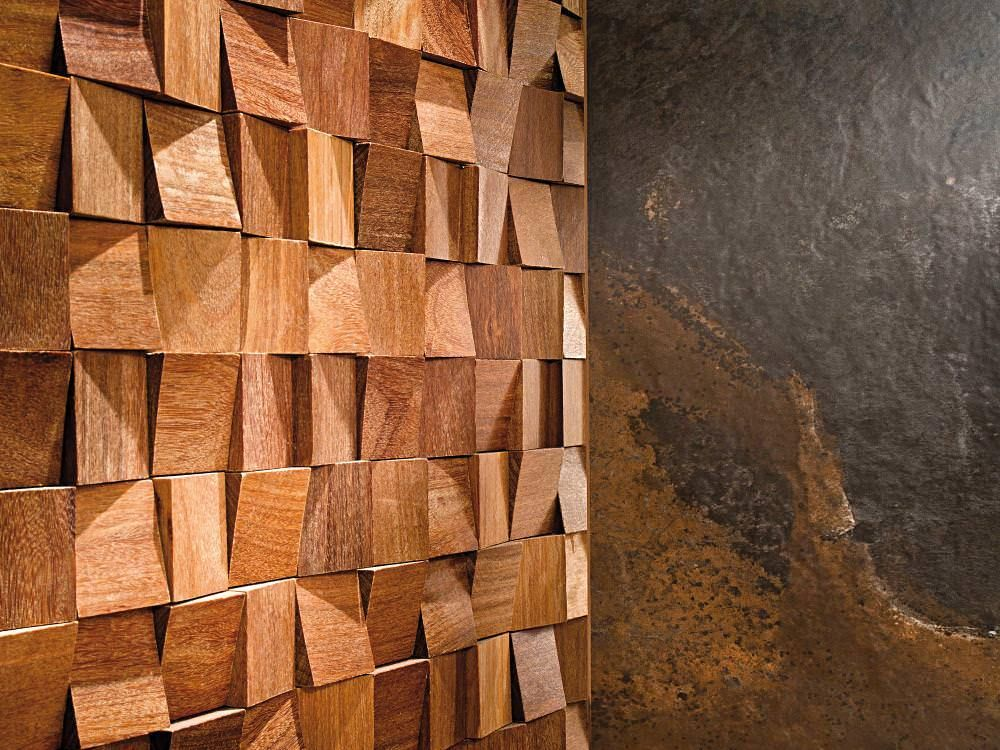 Wood Feel Wood Mosaic Wood Wall Paneling