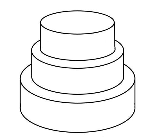 Template For Cake Design : Cake Templates cakepins.com Cake decorating tip and ...