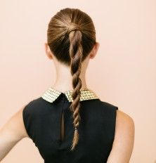 Twisted Ponytail Updo | Camille Styles