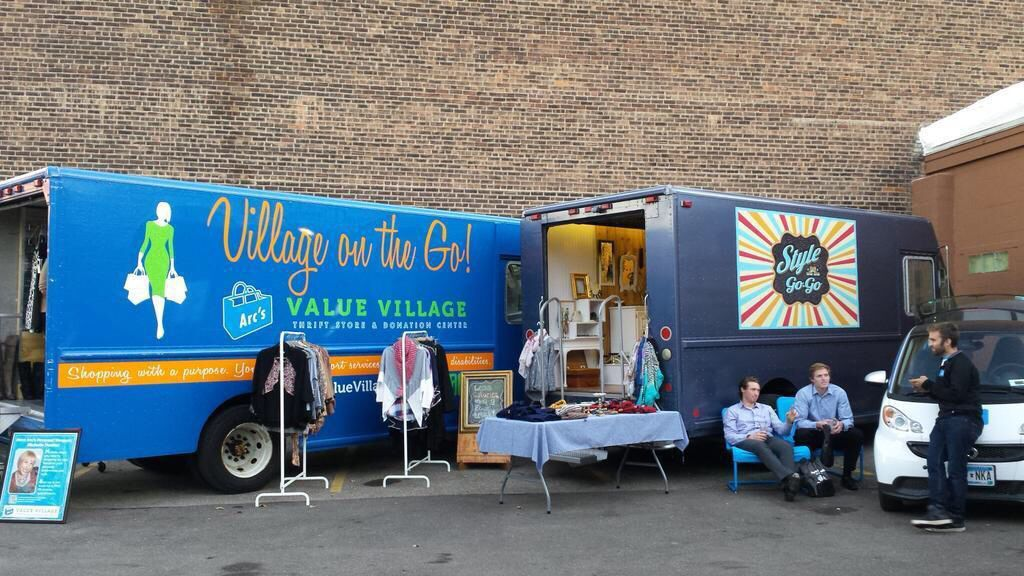 Village On The Go Our Mobile Thrift Store Fashiontruck With