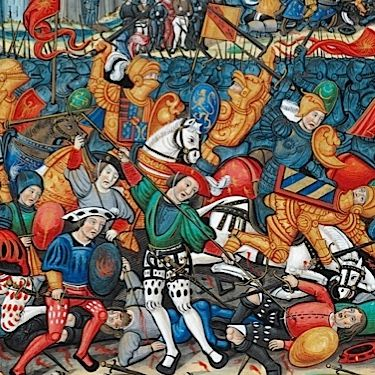 From the Norman Conquest to the Crusades; the Hundred Years' War to the Wars of the Roses, the Middle Ages were plagued by bloody battles and violent sieges...
