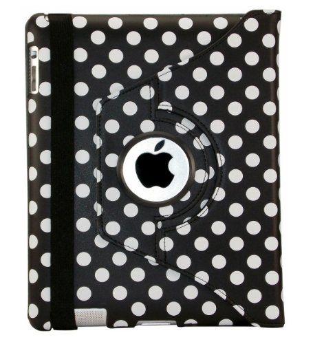 SPRAWL@ 360 Soporte Grado giratoria Nuevo piel PU leather Funda / Case de Cuero Piel Smart Caso / COVER para Apple iPad 2 3 4 - Black Negro Polka dot lunares B00C92ZBIS - http://www.comprartabletas.es/sprawl-360-soporte-grado-giratoria-nuevo-piel-pu-leather-funda-case-de-cuero-piel-smart-caso-cover-para-apple-ipad-2-3-4-black-negro-polka-dot-lunares-b00c92zbis.html