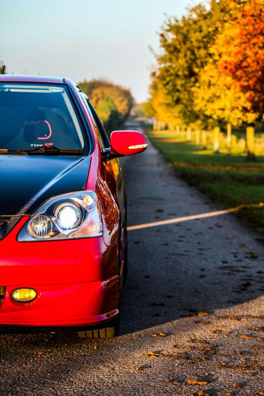 Honda Civic typeR autumn Honda civic type r, Honda