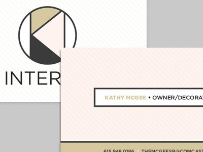 Interior Decorating Business Card Business cards and Logos
