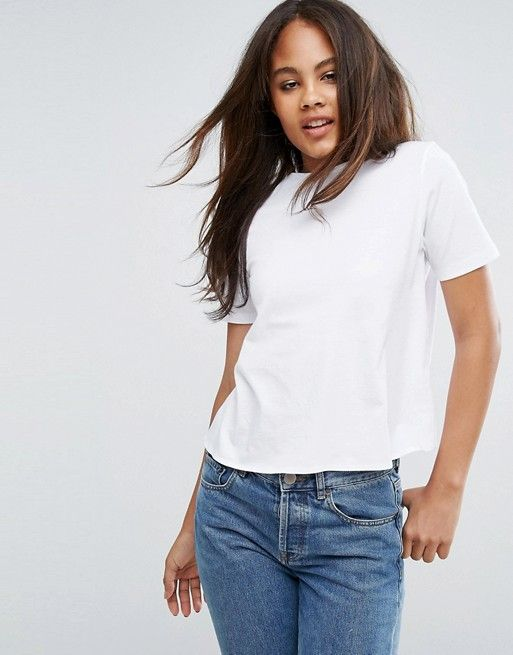 ASOS TALL T-Shirt With Tie Back Detail
